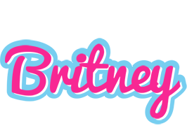 Britney popstar logo
