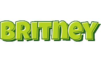 Britney summer logo