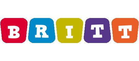 Britt kiddo logo