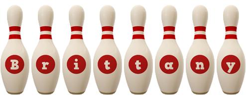 Brittany bowling-pin logo