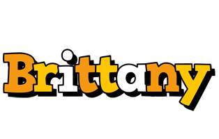 Brittany cartoon logo