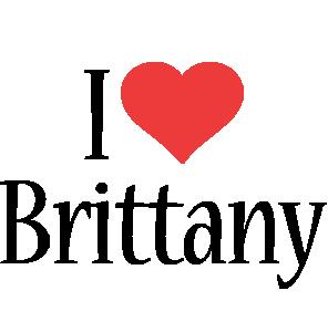 Brittany i-love logo