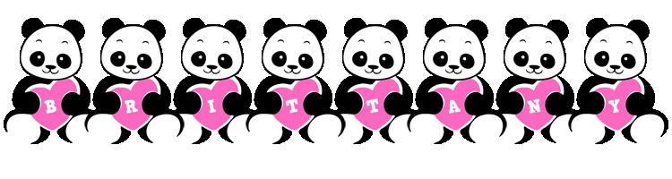 Brittany love-panda logo