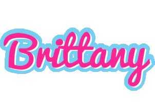 Brittany popstar logo
