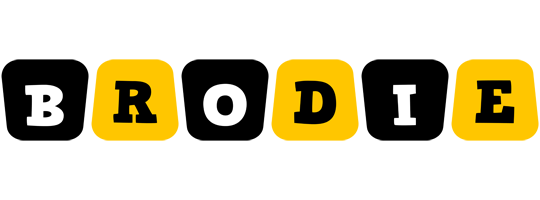 Brodie boots logo