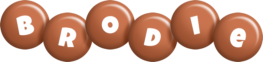 Brodie candy-brown logo