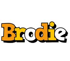 Brodie cartoon logo