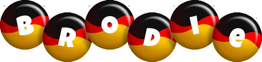 Brodie german logo