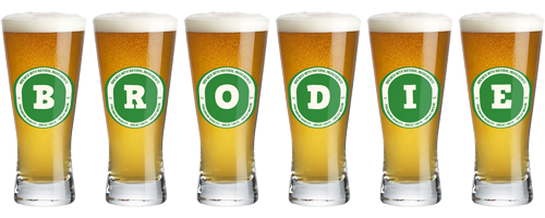 Brodie lager logo