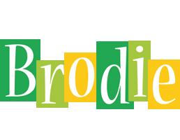 Brodie lemonade logo