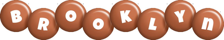 Brooklyn candy-brown logo