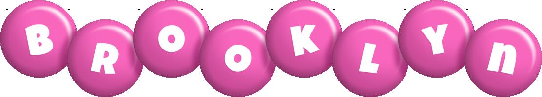 Brooklyn candy-pink logo