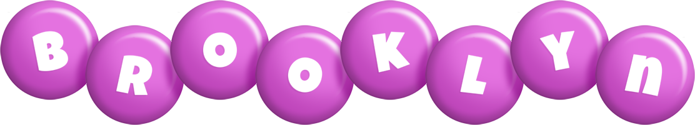 Brooklyn candy-purple logo