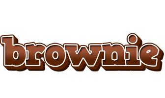 BROWNIE logo effect. Colorful text effects in various flavors. Customize your own text here: https://www.textGiraffe.com/logos/brownie/