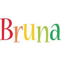 Bruna birthday logo