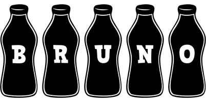 Bruno bottle logo