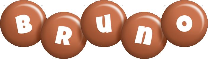 Bruno candy-brown logo