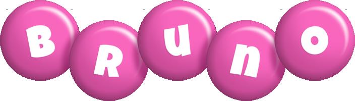 Bruno candy-pink logo