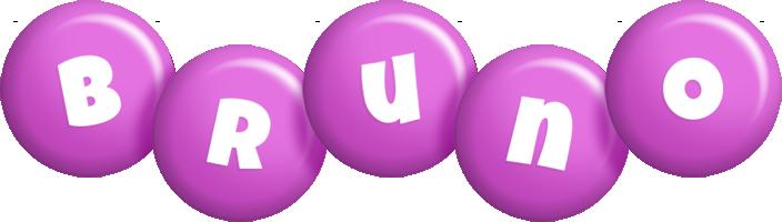 Bruno candy-purple logo