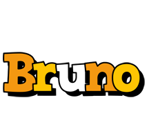 Bruno cartoon logo