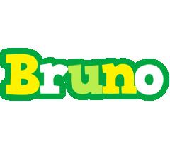 Bruno soccer logo