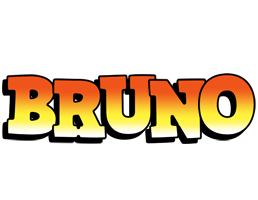Bruno sunset logo