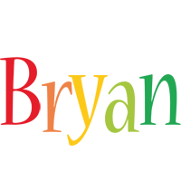 Bryan birthday logo
