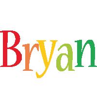 Bryan birthday logo