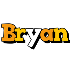 Bryan cartoon logo