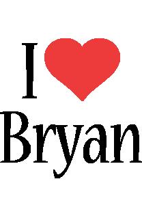 Bryan i-love logo