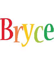 Bryce birthday logo