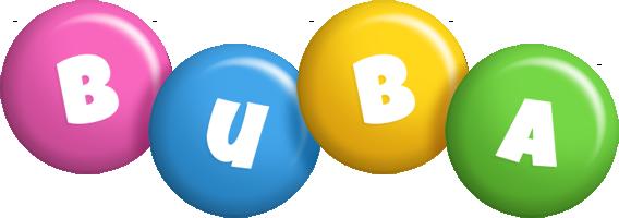 Buba candy logo