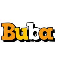 Buba cartoon logo