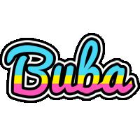 Buba circus logo