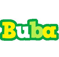 Buba soccer logo
