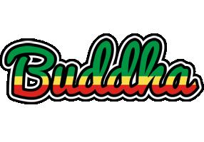 Buddha african logo