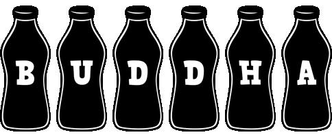 Buddha bottle logo