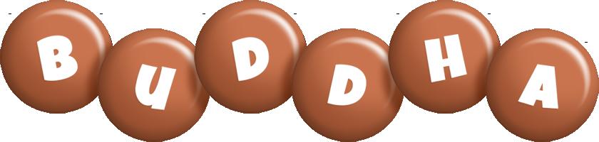 Buddha candy-brown logo