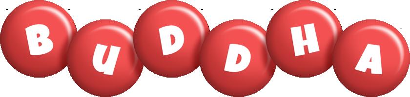 Buddha candy-red logo