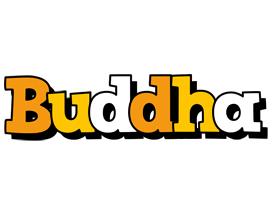 Buddha cartoon logo