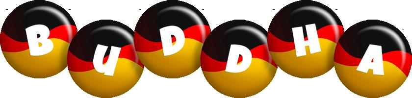 Buddha german logo