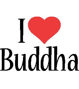 Buddha i-love logo