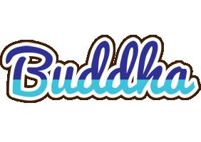 Buddha raining logo