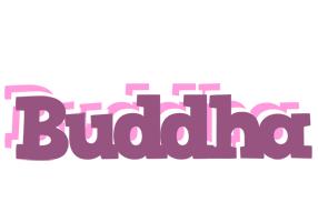 Buddha relaxing logo