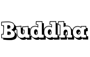 Buddha snowing logo