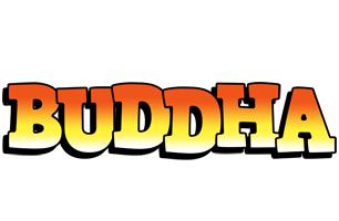 Buddha sunset logo