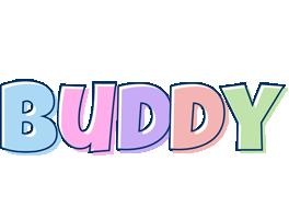Buddy pastel logo