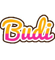 Budi smoothie logo