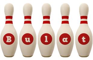Bulat bowling-pin logo