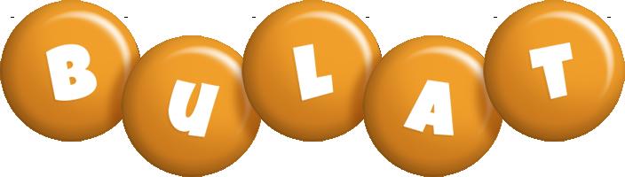 Bulat candy-orange logo